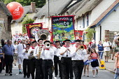Marching band, Tolpuddle Martyrs Festival 2014 - Paul Box - 20-07-2014