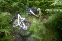 Mountain biking around the Scottish Highlands. Falling off. - Paul Box - 31-07-2006