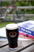 A pint of Brains beer. Stout and good pub guides - Paul Box - 2000s,2007,ADDICTION,ADDICTIVE,alcohol,alcoholic,ALCOHOLICS,ALCOHOLISM,beer,beers,beverage,beverages,bicycle,bicycles,BICYCLING,Bicyclist,Bicyclists,bike,bikes,book,books,brains,CYCLE,cycles,CYCLING,C