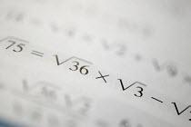 A math lesson at City Academy, Bristol. - Paul Box - 2000s,2006,ACADEMIC,academics,academies,Academy,arithmetic,Bristol,cities,City,class,edu education,education,educational,learn,learning,lesson,lessons,math,mathematics,maths,number,numbers,NUMERACY,sc