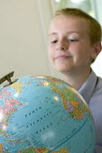 A Geography lesson, at City Academy, Bristol. - Paul Box - 13-07-2006
