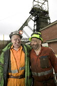 Tower Colliery,Wales the last deep pit mine in Wales closes. 239 Welsh miners scraped together 8,000 a piece to keep open a mine that British Coal had declared worthless. Miners with mixed emotions le... - Paul Box - 2000s,2008,capitalism,capitalist,coal,coalfield,collieries,Colliery,communities,community,deep,dust,EBF,EBF Economy,Economic,Economy,energy,final,hard hat,hat,hats,Industries,industry,job,jobs,LAB LBR