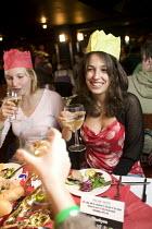 Student Christmas Party at Jongleurs Comedy Club. - Paul Box - 2000s,2006,a,ADDICTION,ADDICTIVE,alcohol,alcoholic,ALCOHOLICS,ALCOHOLISM,bar,bars,beverage,beverages,BREAK,celebrate,celebrates,celebrating,Christmas,cities,city,club,clubs,comedy,communities,communit