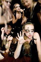 A drama performance at Clevedon Community School. - Paul Box - 14-07-2006