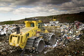 Packington Landfill Site, one of Europes largest landfills. - Paul Box - 21-03-2007