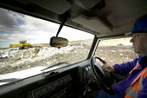 Packington Landfill Site, one of Europes largest landfills. - Paul Box - 21-03-2007