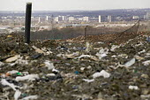 Packington Landfill Site, one of Europe's largest landfills. - Paul Box - 2000s,2007,building,buildings,cities,city,cityscape,cityscapes,compacting,compaction,council services,council services,debris,discard,discarding,disposal,dispose,disposing,dump,dumps,EBF,Economic,Econ
