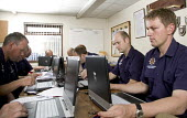 Retained officers receiving computer training, at Cinderford Community Fire and Rescue Station. - Paul Box - (IT),2000s,2007,adult,Adult Education,adults,bluetooth,class,classes,communicating,communication,communities,Community,COMPUTE,computer,computers,COMPUTING,edu education,email,Fire AND Rescue,fire bri
