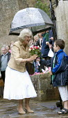 Camilla, The Duchess of Cornwall and Prince Charles celebrating her 60th birthday at Bromham, Wiltshire. - Paul Box - 2000s,2007,ace culture,birthday,birthdays,Bowles,boy,boys,British,Camilla,celeb,celebrate,celebrates,celebrating,celebrities,celebrity,celebs,child,CHILDHOOD,children,Cornwall,crowd,crowded,crowds,Duc