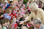 Camilla, The Duchess of Cornwall and Prince Charles celebrating her 60th birthday at Bromham, Wiltshire. - Paul Box - 2000s,2007,ace culture,Arthur,birthday,birthdays,Bowles,british,Camilla,celeb,celebrate,celebrates,celebrating,celebrities,celebrity,celebs,Charles,child,CHILDHOOD,children,Cornwall,crowd,crowded,crow