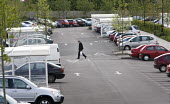 Car park at the Asda supermarket, in Swindon. - Paul Box - 25-06-2005