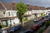 A street in Butetown, Cardiff. - Paul Box - 22-05-2005