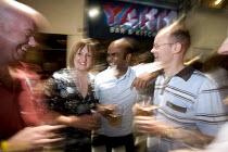 A busy night at Yard Bar, in Cardiff - Paul Box - 28-05-2005