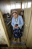 A one hundred year old lady who still lives at home on her own. - Paul Box - 2000s,2008,adult,adults,age,ageing population,cities,city,elderly,EQUALITY,excluded,exclusion,fail,FEMALE,frailty,HARDSHIP,home,homes,house,houses,housing,impoverished,impoverishment,INEQUALITY,Margin
