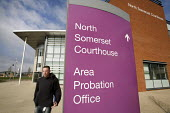 The Avon and Somerset Area Probation Office, in Weston-super-Mare. - Paul Box - (NPS),2000s,2009,building,buildings,cigarette,cigarettes,CLJ crime,co-ordinate,courthouse,courthouses,government,male,man,men,National,nicotine,offender,offenders,office,offices,people,person,persons,