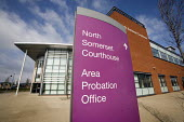 The Avon and Somerset Area Probation Office, in Weston-super-Mare. - Paul Box - 25-03-2009