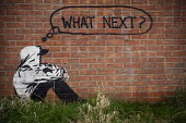 What next? graffiti. - Paul Box - 2000s,2009,ACE,ace art culture arts,adolescence,adolescent,adolescents,against,alone,anti,anti social behavior,anti social behaviour,anti socialanti social behavior,anticipating,antisocial,antisocial