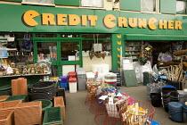Credit Cruncher shop for cheap goods, Bristol. - Paul Box - 22-05-2009