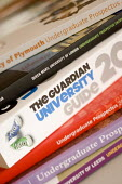 Looking at the Guardian University guide. Clevedon community school, Clevedon. - Paul Box - 04-09-2008