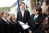 Clevedon community school, Clevedon. - Paul Box - 11-09-2008
