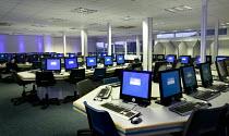 IT room. Clevedon community school, Clevedon. - Paul Box - 23-10-2008