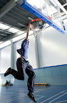 Basketball, Bristol City Academy, Bristol. - Paul Box - 10-10-2008