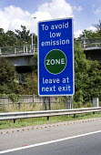 Low emission zone on the M4 motorway. - Paul Box - 09-08-2009