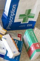 A diabetic man takes his prescription medicine. - Paul Box - 10-08-2009