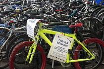Bike park at Temple Meads railway station, Bristol. - Paul Box - 15-10-2014