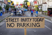 Street Party today no parking, Bristol. - Paul Box - 06-09-2014
