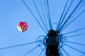 Balloon flying over Bristol. - Paul Box - 02-10-2014