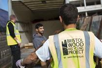 Bristol Wood Recycling Project, Bristol. - Paul Box - (BP),2010s,2014,£B,Bristol,Bristol Pound,cities,city,communities,community,Company,co-operative,customer,customers,employee,employees,Employment,eni,environment,Environmental Issues,job,jobs,lbr,male
