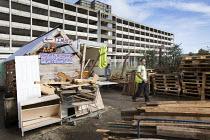 Bristol Wood Recycling Project, Bristol. - Paul Box - ,(BP),2010s,2014,£B,Bristol,Bristol Pound,cities,city,communities,community,Company,co-operative,employee,employees,Employment,eni,environment,Environmental Issues,job,jobs,lbr,male,man,men,National