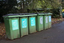 Glass recycle, St Andrews Park, Bristol. - Paul Box - 17-10-2014