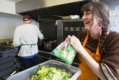 The Bristol Skipchen: a Real Junk Food Project. A community food waste cafe operating on a pay-as-you-feel basis. Staffed entirely by volunteers the serve intercepted waste food that would otherwise h... - Paul Box - 17-10-2014