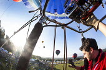 The Bristol International Balloon Fiesta, Bristol. - Paul Box - 09-08-2014