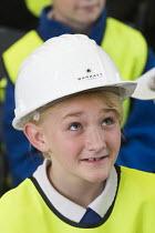 Local school children visit Barratt Homes Hanham Hall, an environmentally friendly development. - Paul Box - 11-06-2014