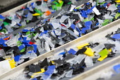 Phineas plastics , Bristol. The factory produces plastic products from its plastic moulding machines using recycled plastic waste. - Paul Box - 11-09-2014