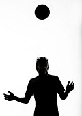 Silhouettes of pupils doing sport at Priory school, Weston Super Mare - Paul Box - 2010s,2014,ball,balls,child,CHILDHOOD,children,cities,city,edu,educate,educating,education,educational,football,footballer,game,games,header,heading,juvenile,juveniles,kid,kids,knowledge,learn,learner