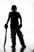 Silhouettes of pupils doing sport at Priory school, Weston Super Mare - Paul Box - 2010s,2014,activity,ball,balls,bat,bating,batsman,batsmen,batting,child,CHILDHOOD,children,cities,city,cricket,Cricket Match,edu,educate,educating,education,educational,face protection,fielding,game,g