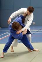 Judo demonstration at Bristol City Academy. - Paul Box - 02-07-2008