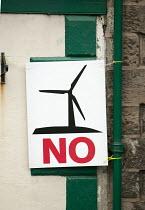 An anti wind farm poster. - Paul Box - 2000s,2007,activist,activists,against,alternative,Alternative Energy,anti,campaign,campaigner,campaigners,campaigning,CAMPAIGNS,cities,city,communicating,communication,degradation,DEMONSTRATING,DEMONS