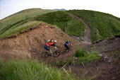 Mountain bikers in Pen Y Fan, Wales. - Paul Box - 03-07-2006