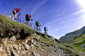 Mountain biking in the Lake District. - Paul Box - 2000s,2007,activities,backpack,bicycle,bicycles,BICYCLING,Bicyclist,Bicyclists,bike,biker,bikers,bikes,biking,Biking Trail,country,countryside,cycle,cycles,cycling,cyclist,cyclists,District,downhill,e