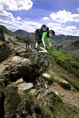 Mountain biking in the Lake District. - Paul Box - 26-04-2007