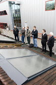 A training day for solar panels at Bosch Headquarters. - Paul Box - 18-01-2008