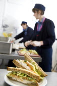 Caterers at Bristol City Academy. - Paul Box - 2000s,2009,adolescence,adolescent,adolescents,caterer,caterers,catering,chef,chefs,cities,city,cook,COOKERY,cooking,cooks,edu,educate,educating,education,educational,employee,employees,Employment,FEMA
