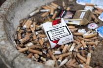 An ashtray outside an office block. - Paul Box - 25-08-2009