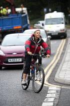 A cyclist. - Paul Box - 25-08-2009
