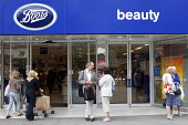 Boots store, beauty in the shopping precinct, Southampton. - Paul Box - 03-07-2011